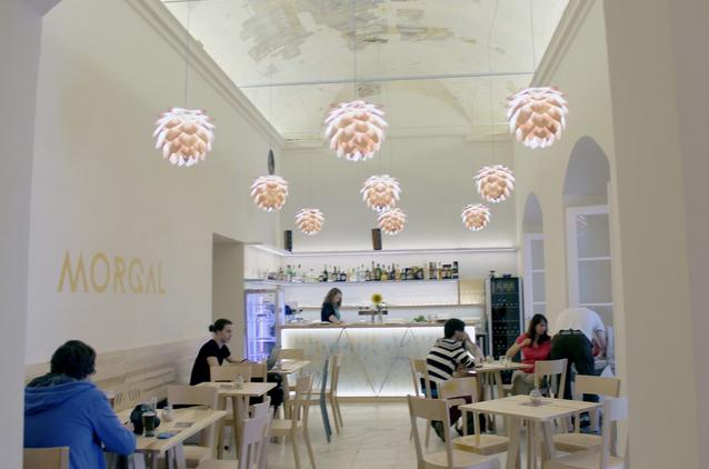 Café Morgal na blogu 'gather moments'
