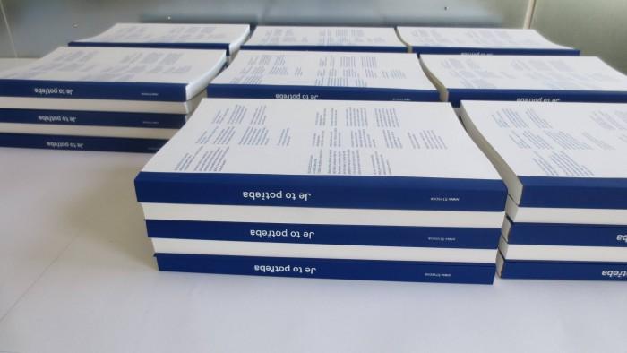 Vorstellung des Buchs 'Je to potřeba' im Café Morgal