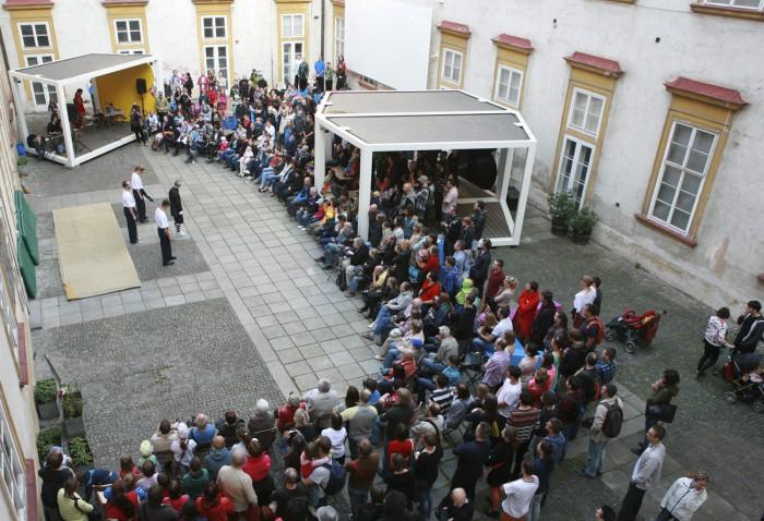 Vystoupení škol bojového umění Brno