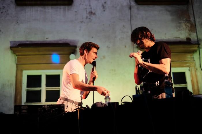 Dan Bárta & En.Dru \ koncert na nádvoří