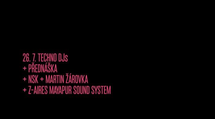KMENY 90: DJs NSK & Z-Aires (Mayapur) & přednáška
