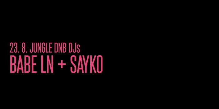 KMENY 90: DJs Babe LN & Sayko